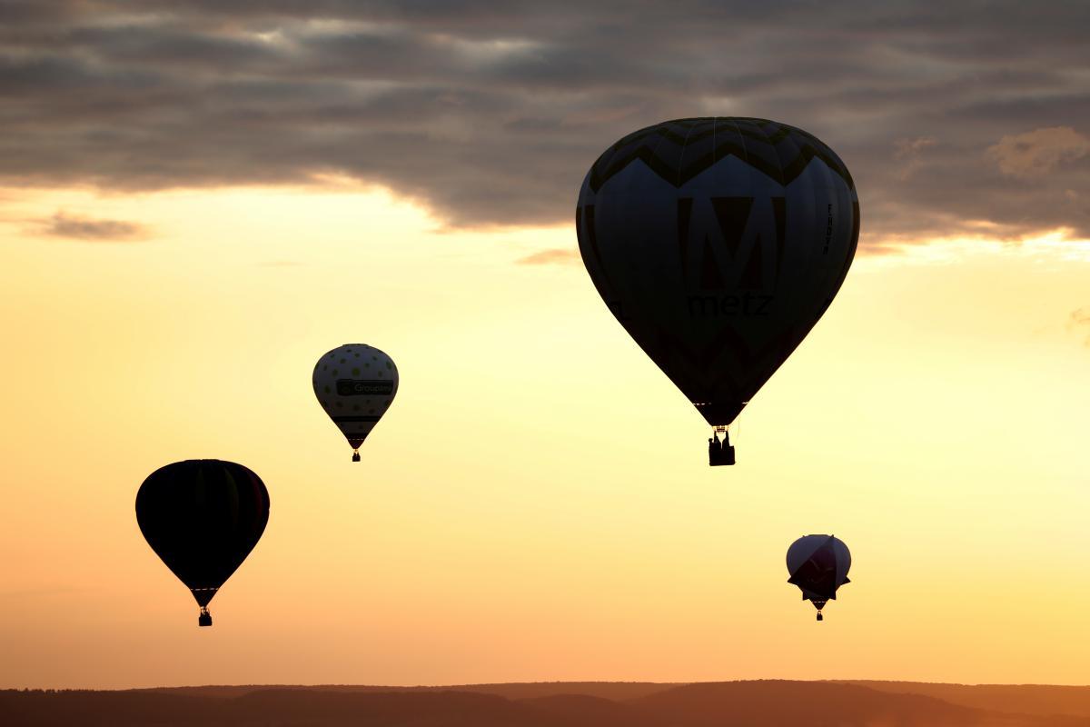 30 сентября 1906 года начались первые международные состязанияна воздушных шарах, наполненных горячим воздухом / фото REUTERS
