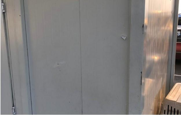 "Последствия обстрела КПВВ ""Марьинка"" / фото прес-центр штабу ООС"