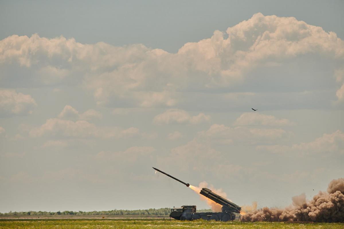 Испытания прошли в Одесской области / фото armyinform.com.ua