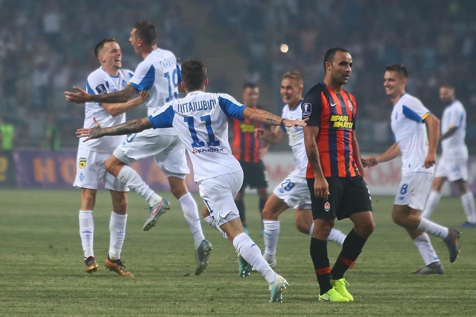 Динамо забило два гола за три минуты / фото: ФК Динамо Киев