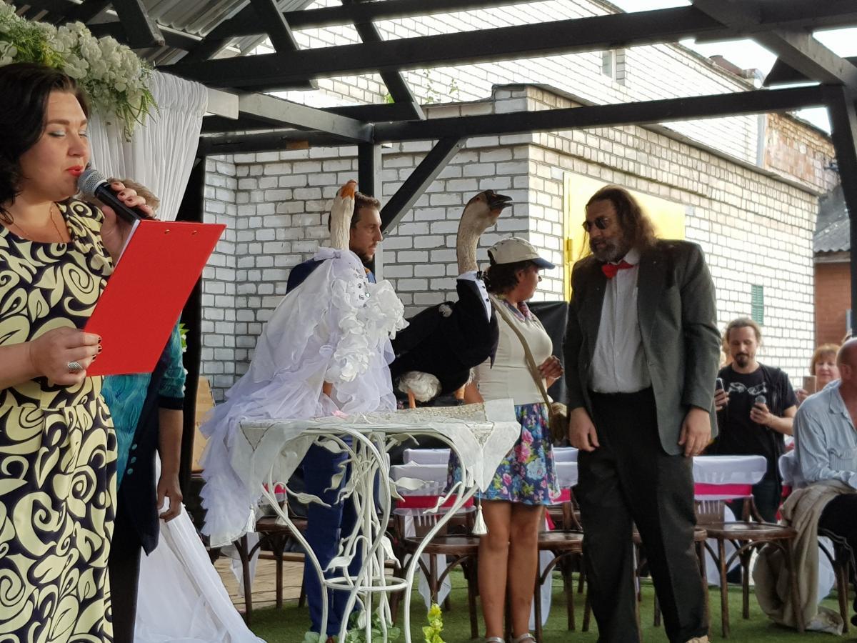 Неофициальное бракосочетание Харвистера и Кришны прошло 28 июля/ фото vk.com/idmuhtarolga