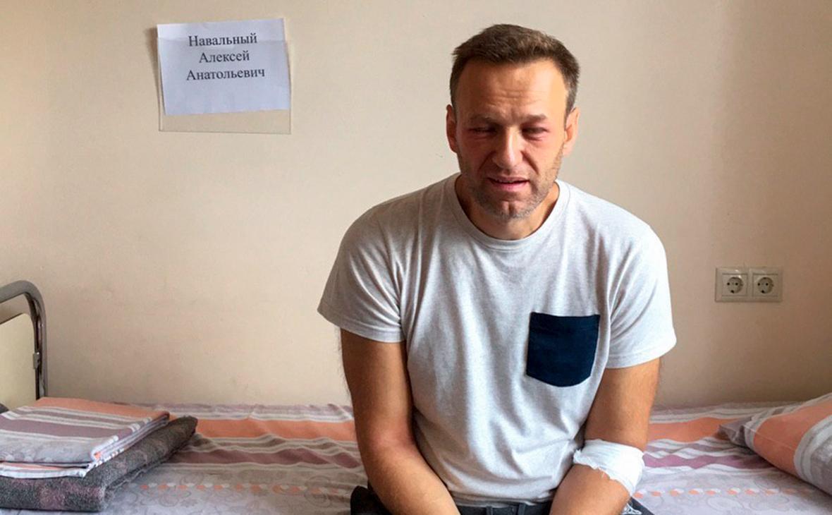 28 июля стало известно о госпитализации Навального/ Фото: navalny.com