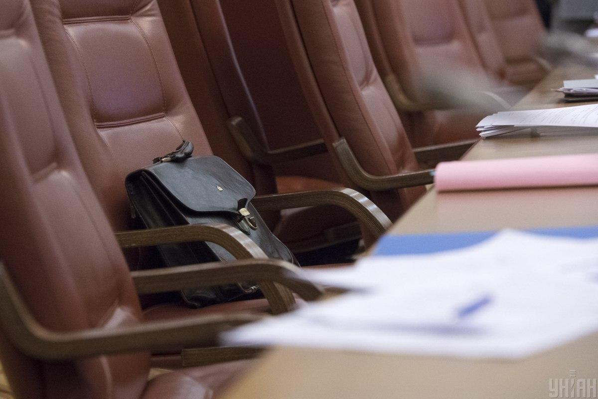 Как отметил сопредседатель группы «Партия «За майбутнє», группа будет поддерживать отставку министров / фото УНИАН