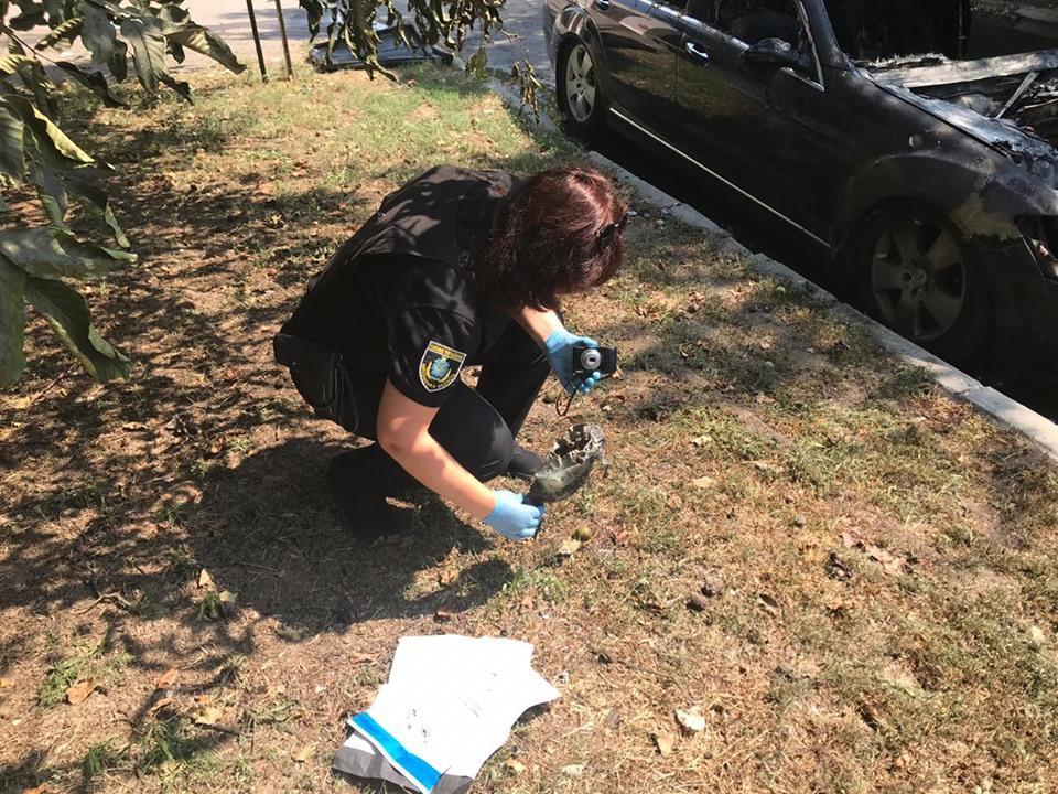 Полиция ищет злоумышленников / фото: ГУ Нацполиции Херсонской области