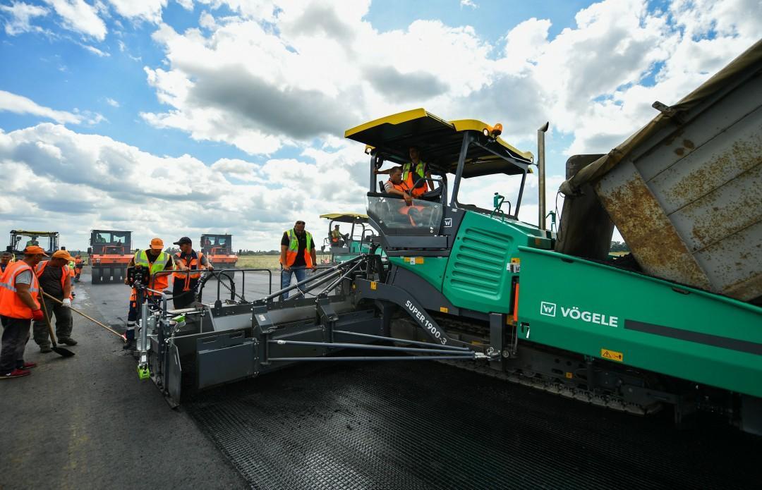 В этом году должны завершить ремонт взлетно-посадочной полосы / фото president.gov.ua