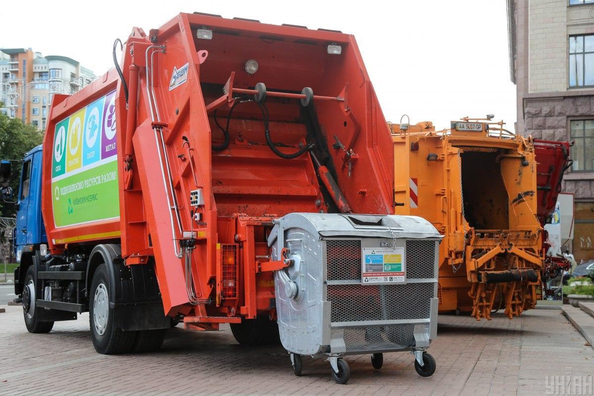 Картинки сбор мусора мусоровоза