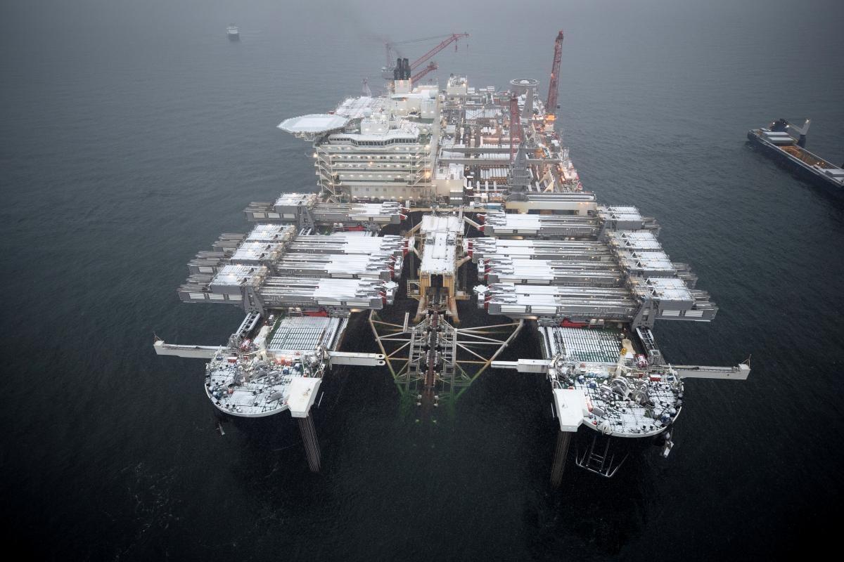 США запровадили нові снакції проти Північного потоку-2 / Ілюстрація REUTERS