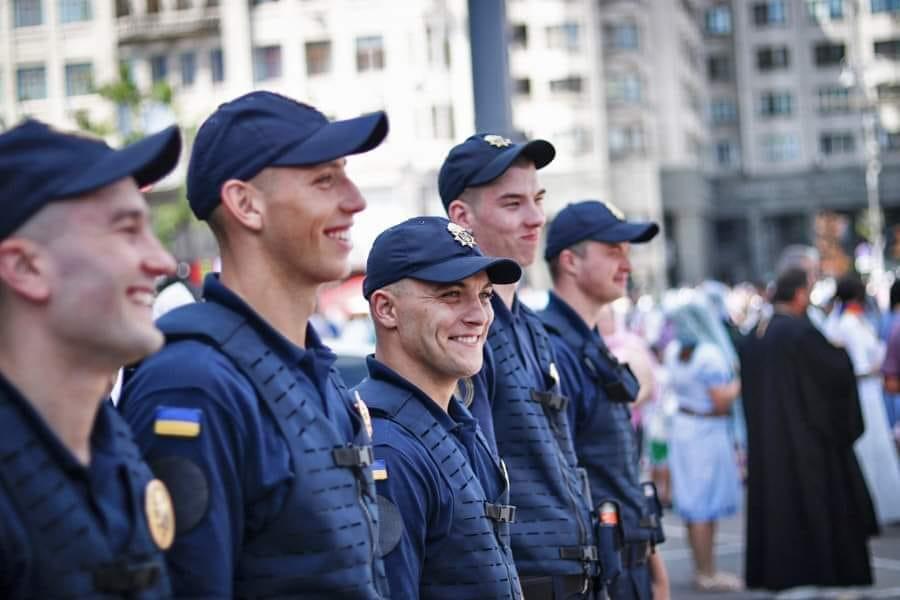До охорони порядку завтра у Харкові під час Маршу рівності планується залучити майже 2,5 тис. поліцейських / фото прес-служба МВС