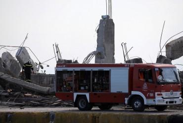 Последствия землетрясения в Афинах (фоторепортаж, видео)