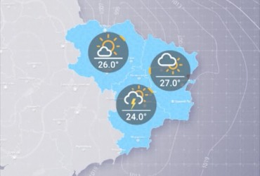 Прогноз погоды в Украине на среду, день 24 июля
