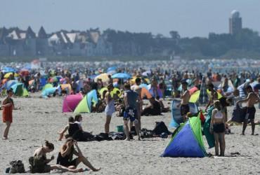 Европа страдает от аномальной жары (видео)