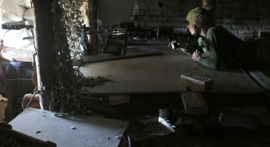 Ukraine reports five enemy attacks in Donbas on Sept 18