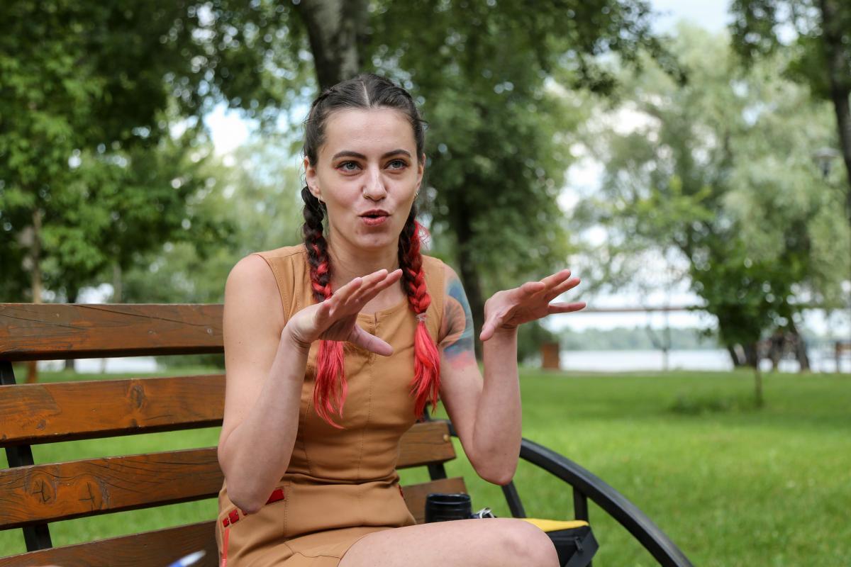 Хозяйка Чапати Кристина с детства очень любила собак / Фото УНИАН