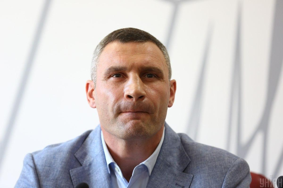 Виталий Кличко любит говорить об обустройстве Киева для велосипедистов / фото УНИАН