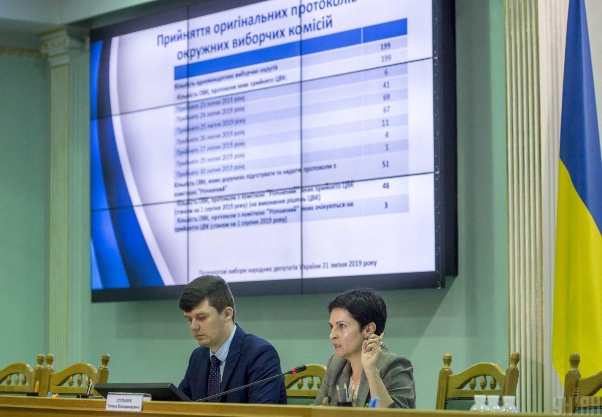 ЦИК признала избранными 153 народных депутатов Украины / фото УНИАН