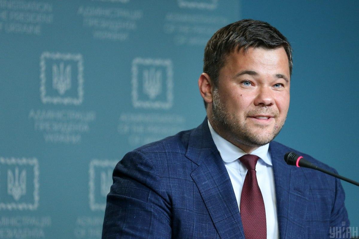 Богдан и его заместители Андрей Смирнов и Юлия Ковалив провели встречу с послами стран G7 / фото УНИАН