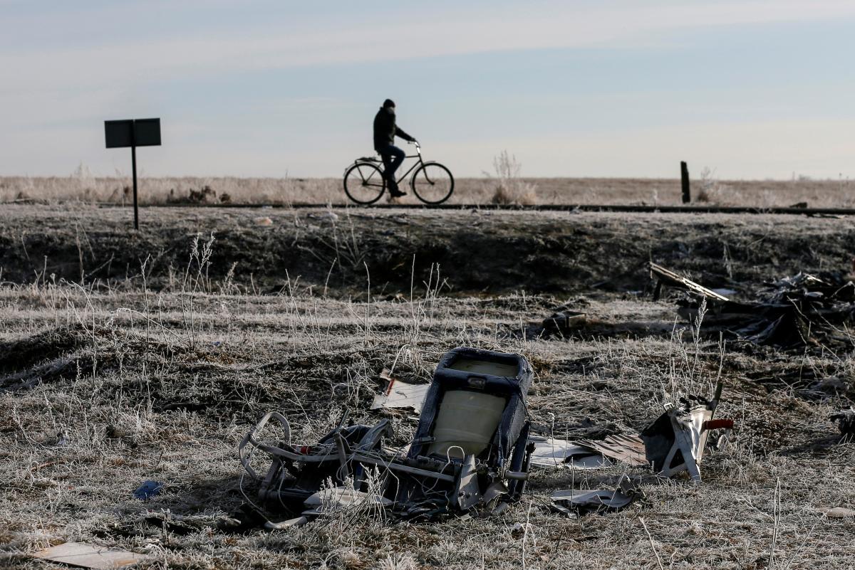 Самолет, выполнявший рейс MH17, был сбит 17 июля 2014 года над Донбассом / фото REUTERS