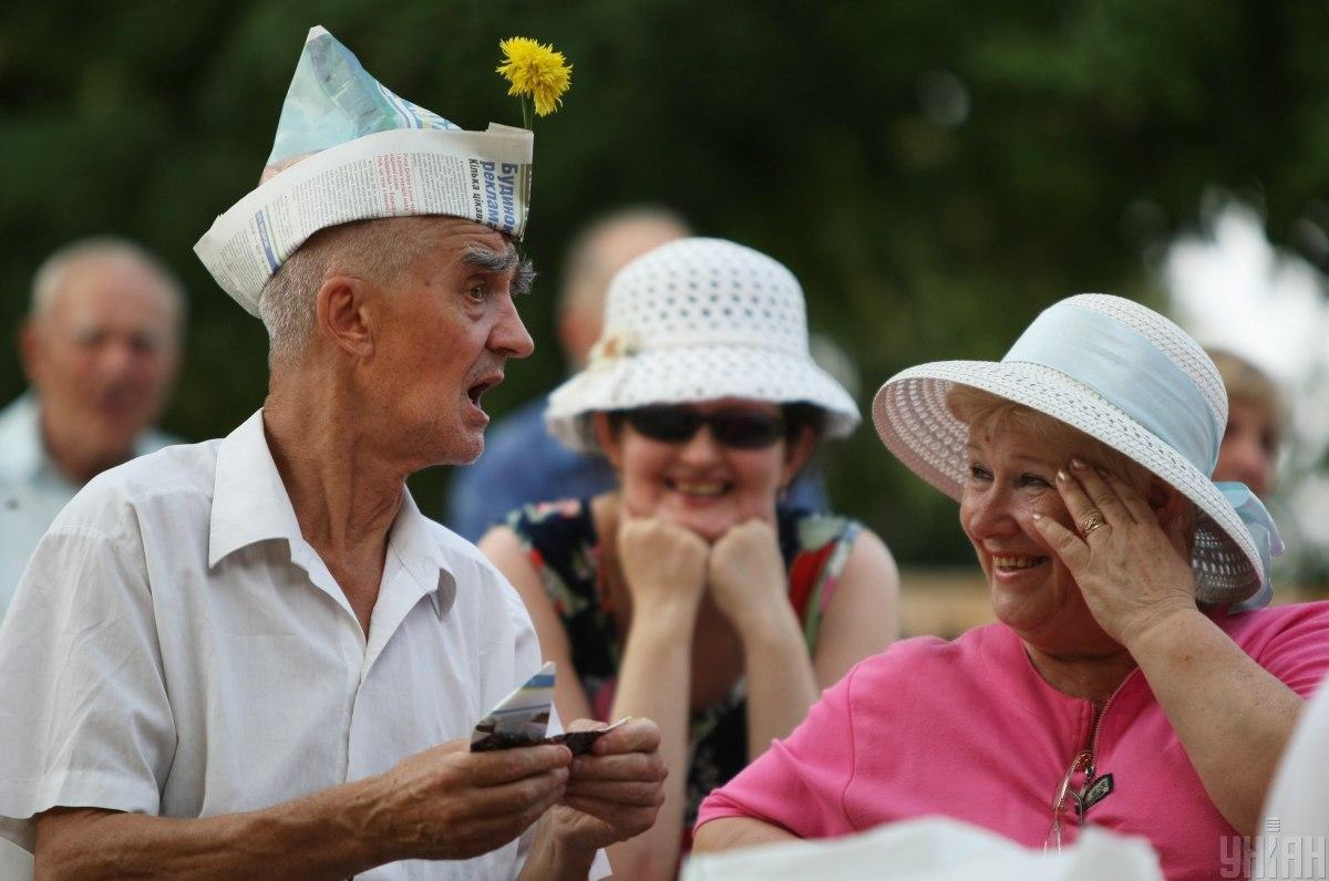 76% пенсий в июле Пенсионный фонд назначил по возрасту / фото УНІАН