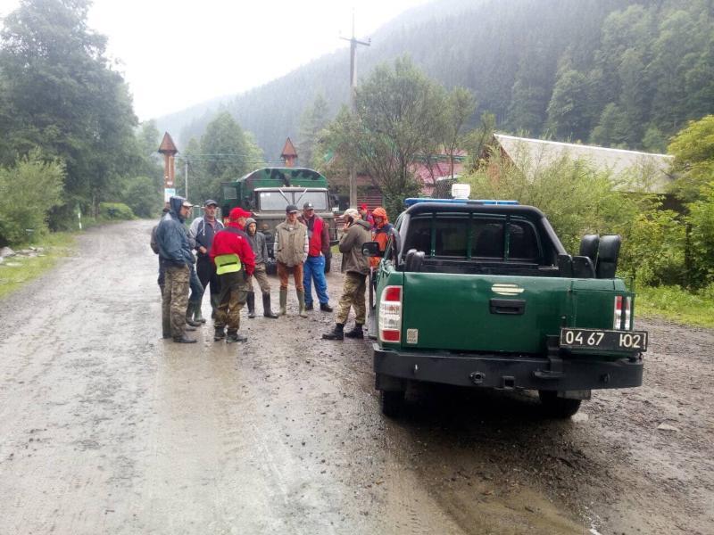 Спасатели ищут в Карпатах 14-летнюю девушку / фото ГСЧС