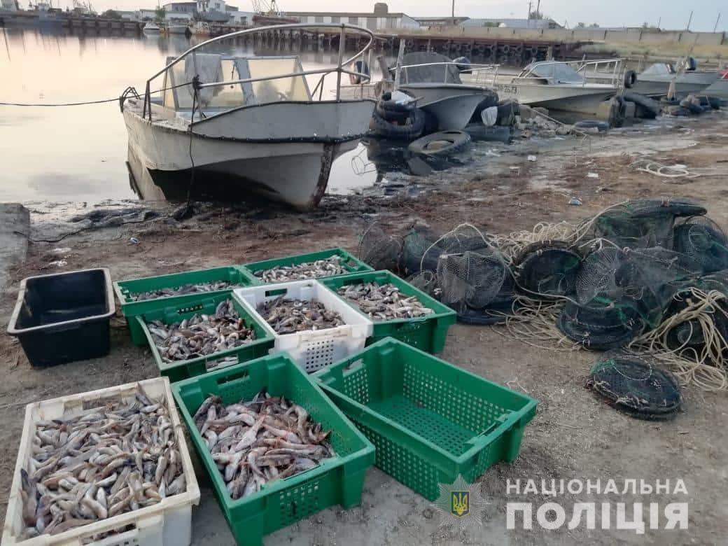 Под Херсоном задержали браконьеров / hr.npu.gov.ua