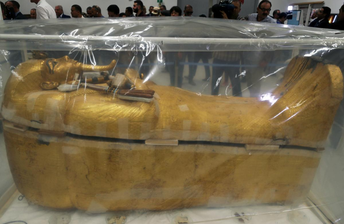 Саркофаг Тутанхамона / REUTERS