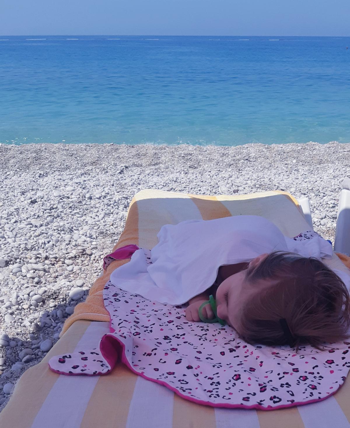Інфраструктура на пляжах добре підлаштована для дітей / Фото Юлія Корнійчук