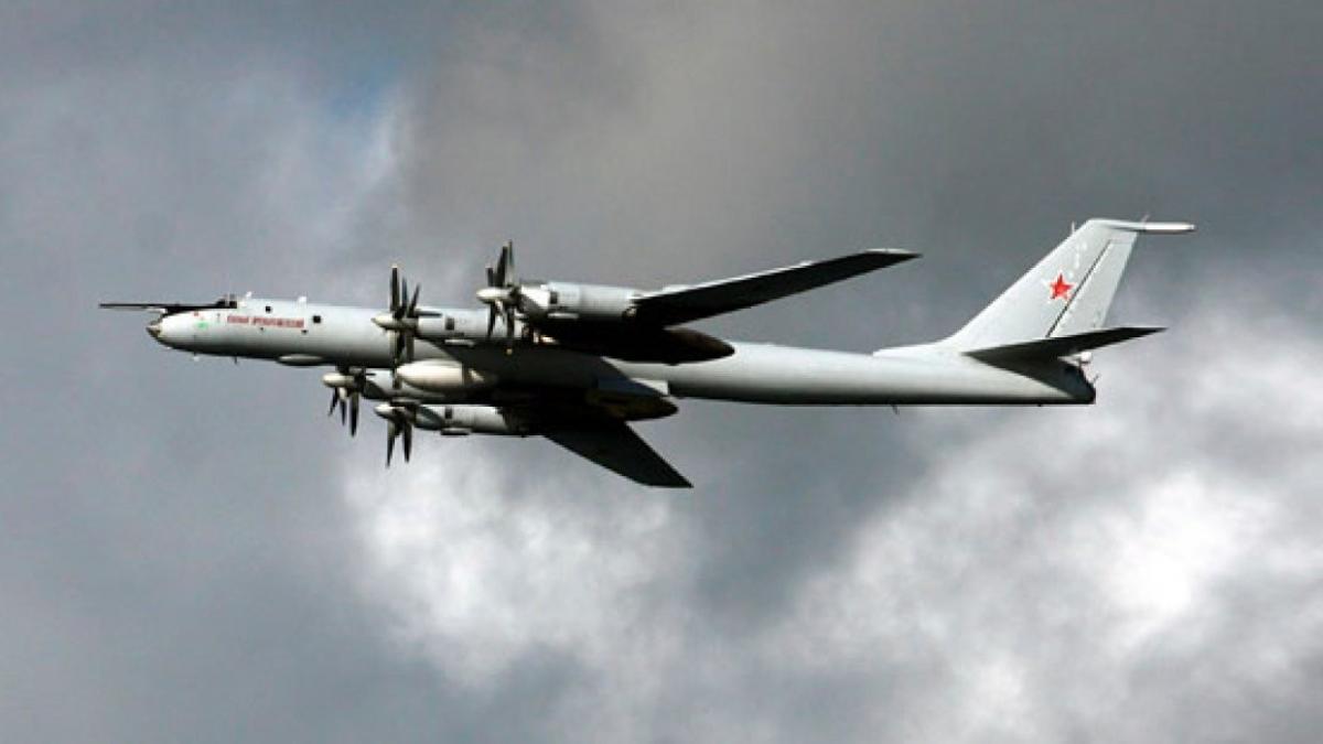 Российские Ту-142 приблизились к Аляске / Министерство обороны РФ