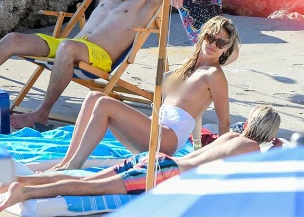 Хайди Клум не стесняется показывать роскошное тело на отдыхе / redcarpetmood