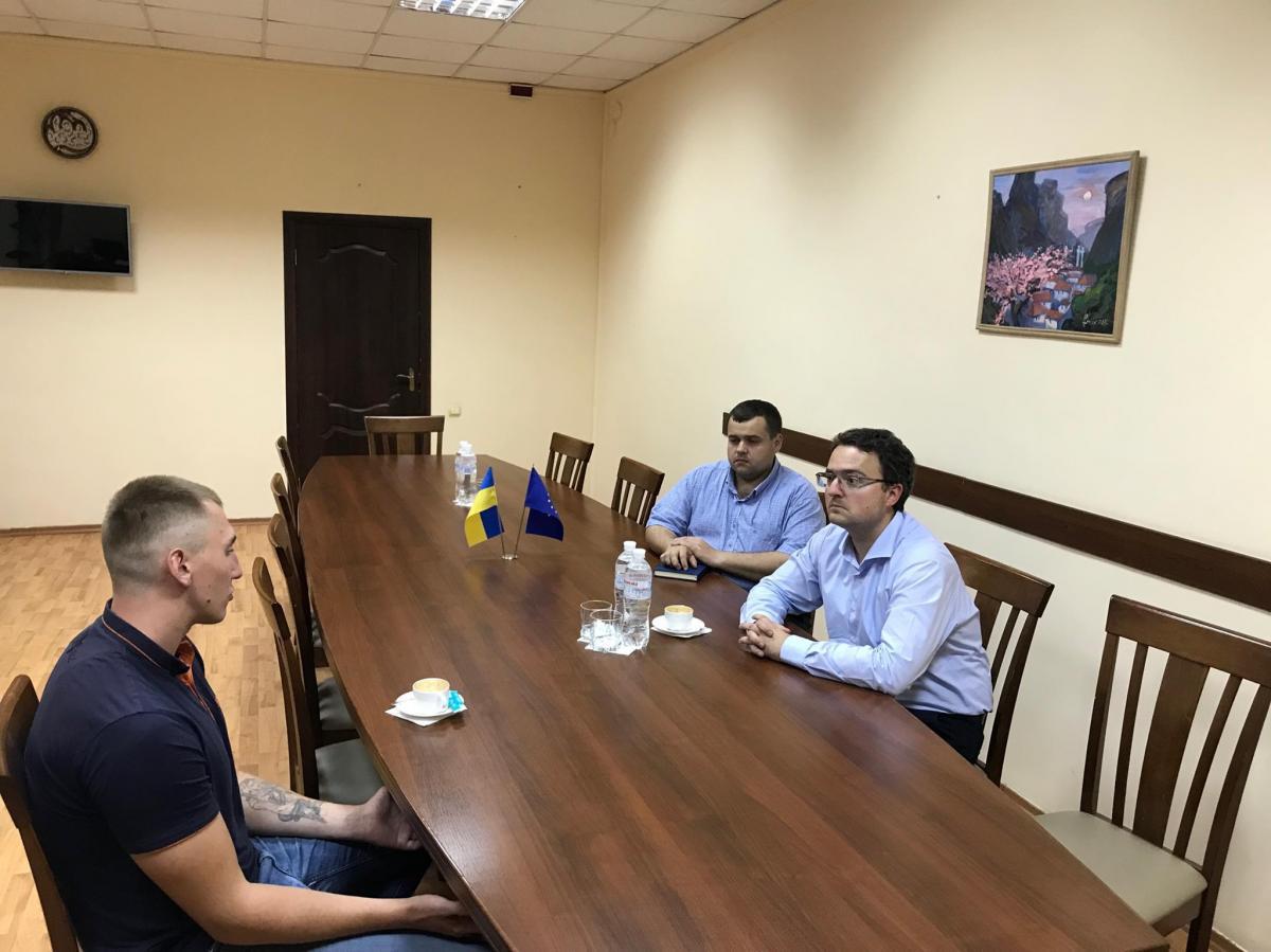 Стешенка відпустили за процедурою умовно-дострокового звільнення / фото facebook.com/ppu.gov.ua