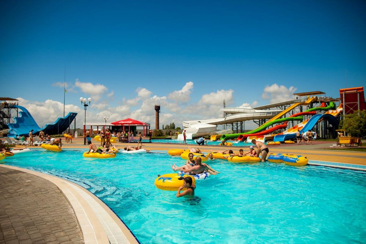 В Кирилловке находитсясамый большой аквапарк в Украине / фото kirillovka.ks.ua