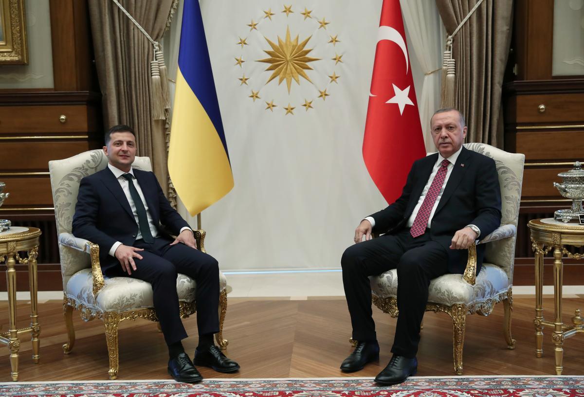 Зеленский поговорил с Эрдоганом / REUTERS