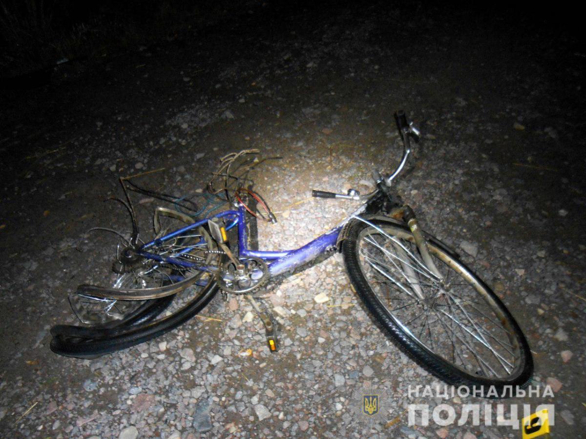 ДТП произошло вчера вечером в городе Сарны / фото: ГУ Нацполиции Ривненской области