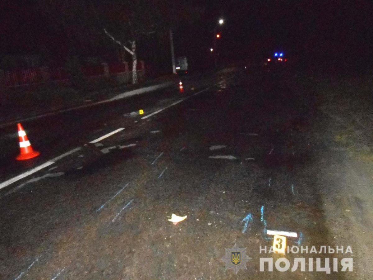 Полиция устанавливает, как парень оказался за рулем / фото: ГУ Нацполици Ривненской области