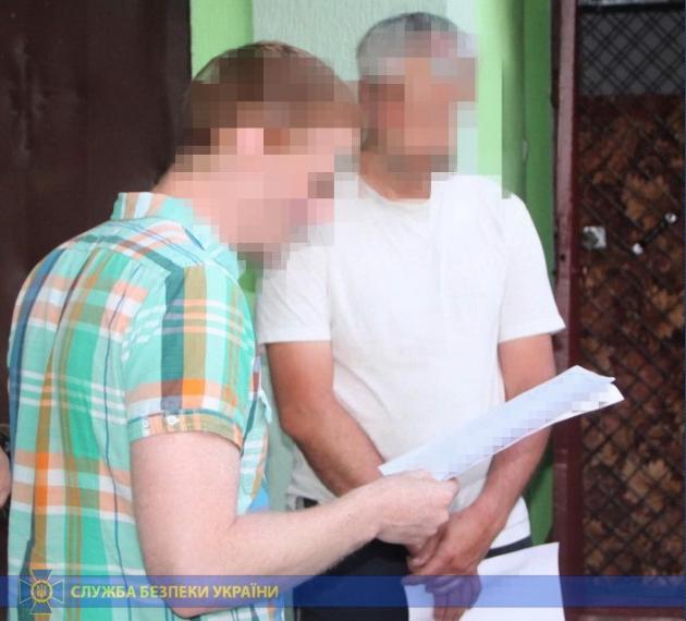 SBU detains Russian national preparing act of sabotage at