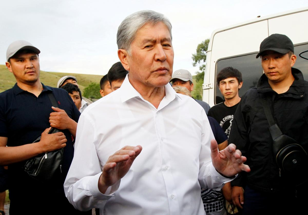Алмазбек Атамбаев / фото REUTERS