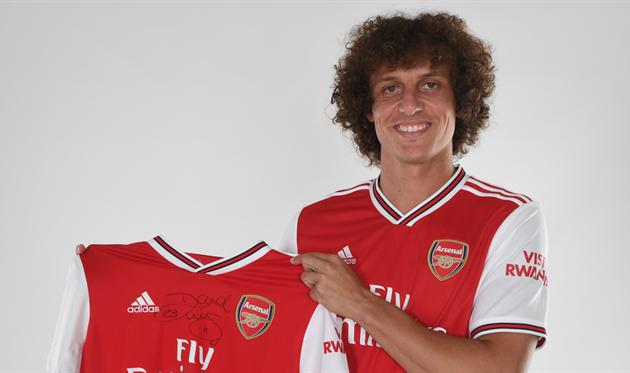 Луис сменил один лондонский клуб на другой / фото: arsenal.com