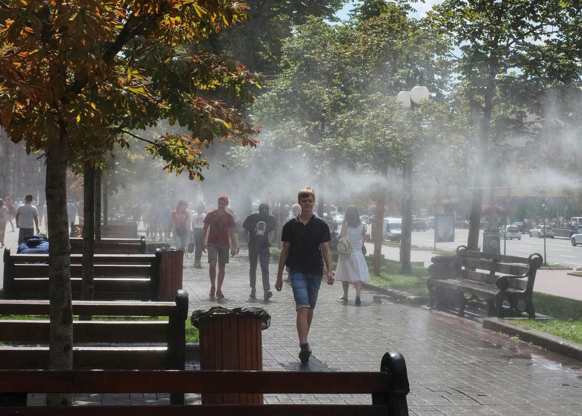 В Киеве зафиксировали еще один температурный рекорд / Иллюстрация REUTERS