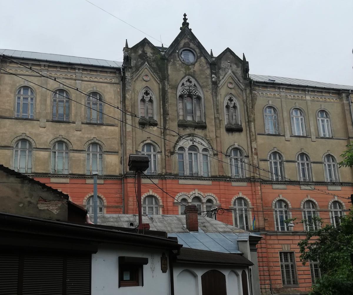 Здание зоологического музея в Ужгороде / Фото Марина Григоренко