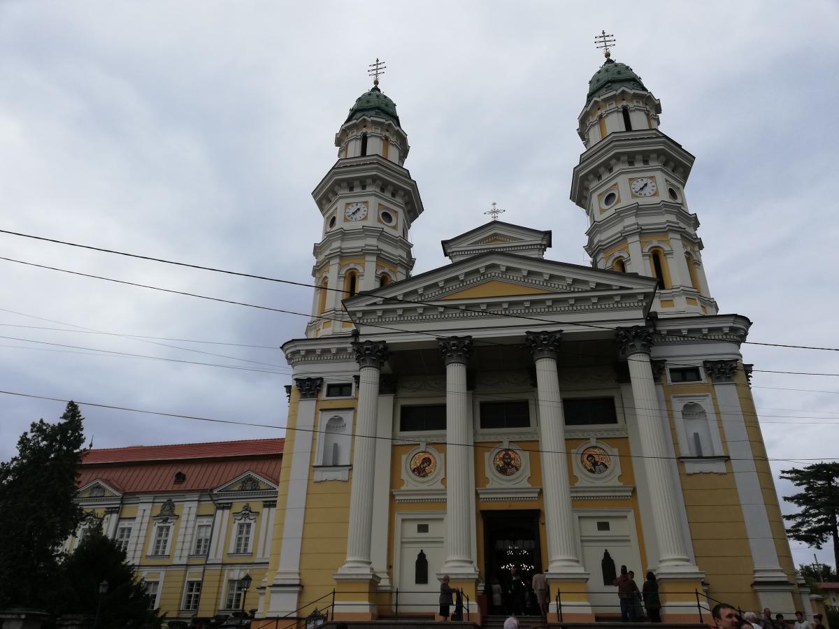 Хрестовоздвиженський собор в Ужгороді / Фото Марина Григоренко