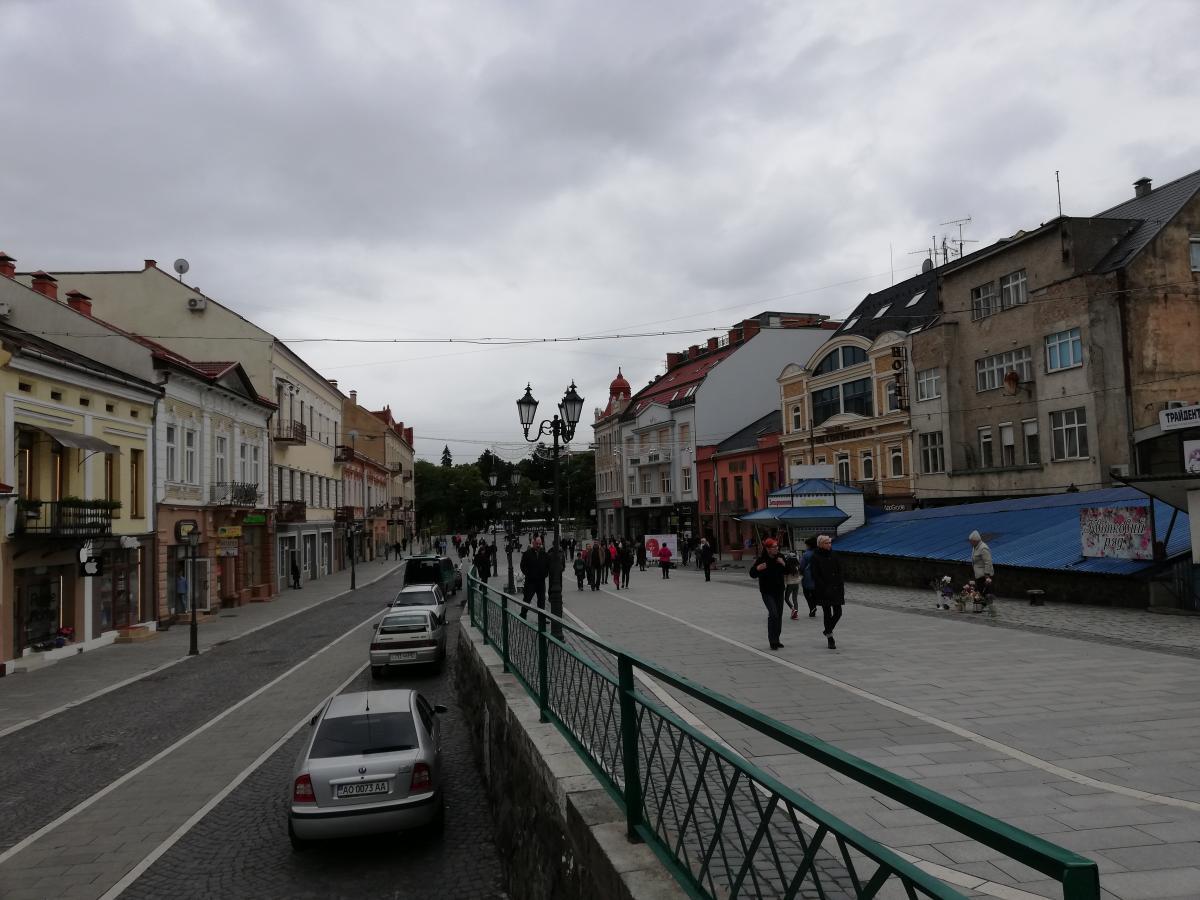 Туристичний центр Ужгорода / Фото Марина Григоренко