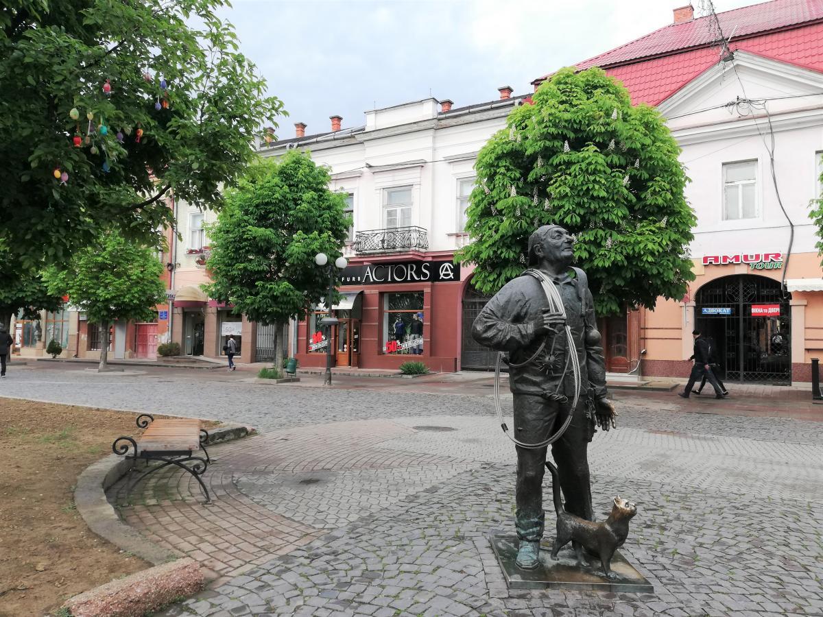 Мукачевский трубочист / Фото Марина Григоренко