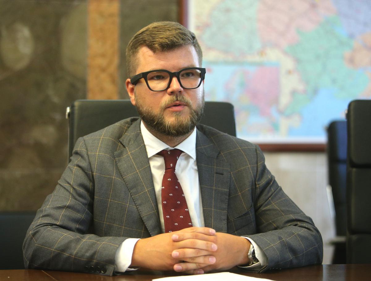 Кабмин уволил главу «Укрзализныци» Евгения Кравцова / Фото УНИАН