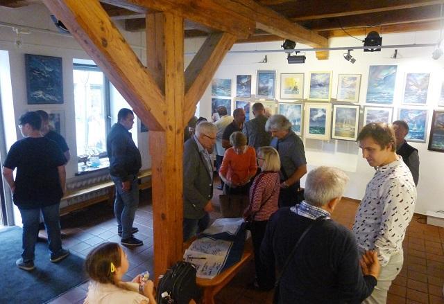 У Вільнюсі відкрилася виставка на підтримку моряків ВМС України / фото mfa.gov.ua