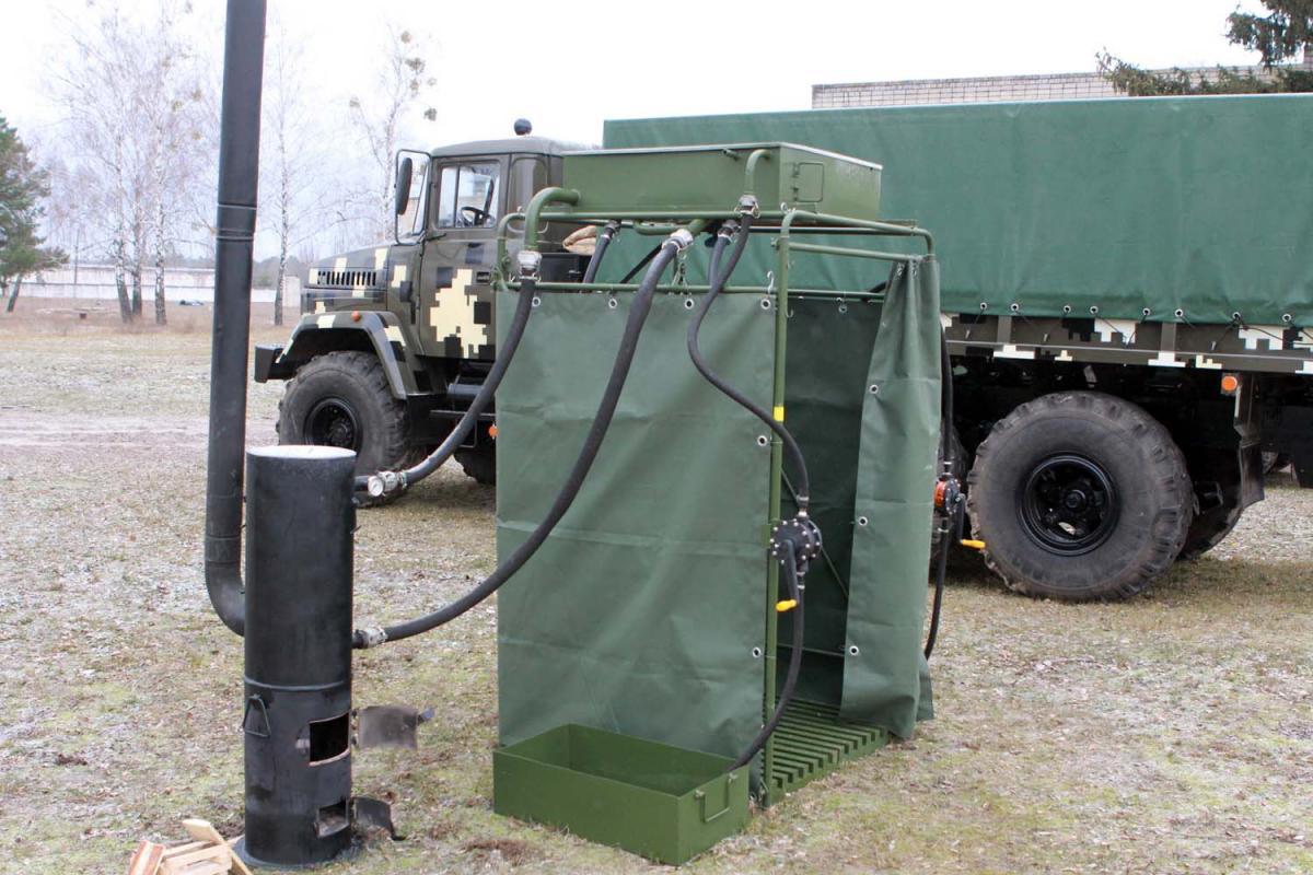 Время полного развертывания установки составляет 15 минут / фото ukrmilitary.com