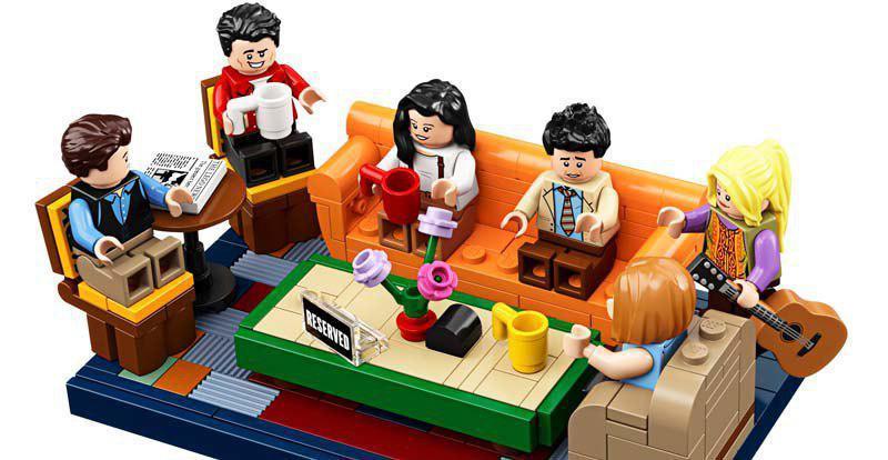 Унаборі Lego буде кав'ярня Central Perk / скрін відео