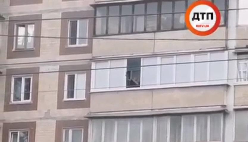 В одном из районов Киева открыли стрілянину/ dtp.kiev.ua, instagram.com