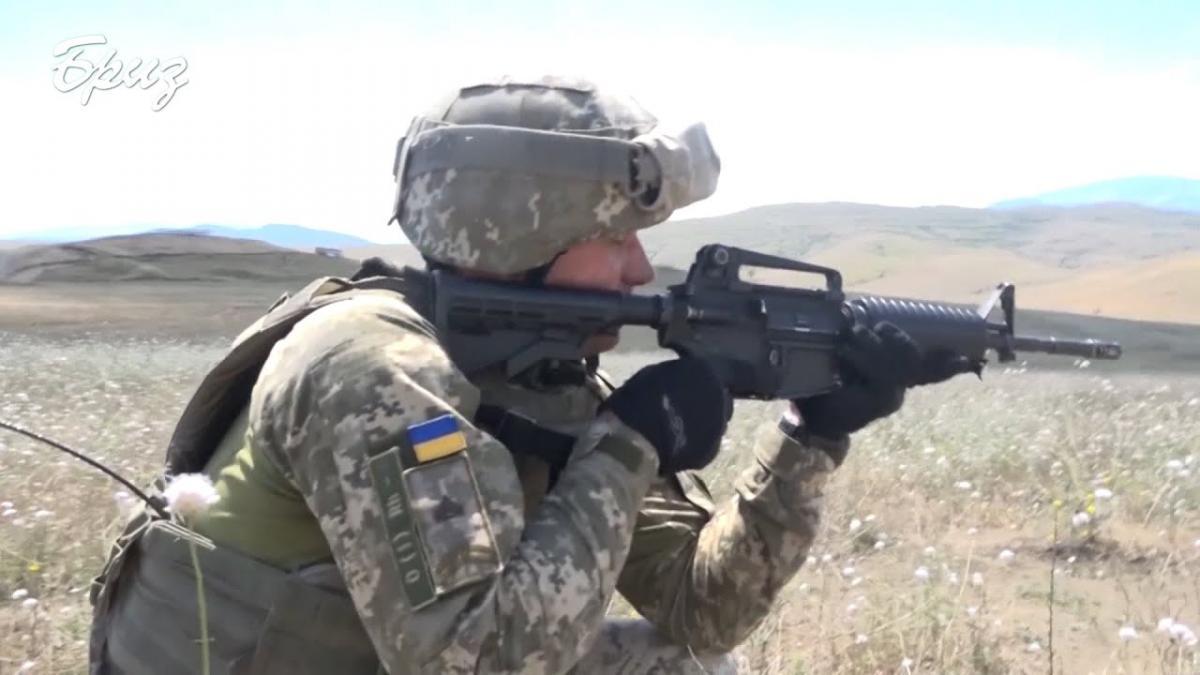 Українські військові повправлялися разом ізміжнароднимипідрозділами/ скріншот