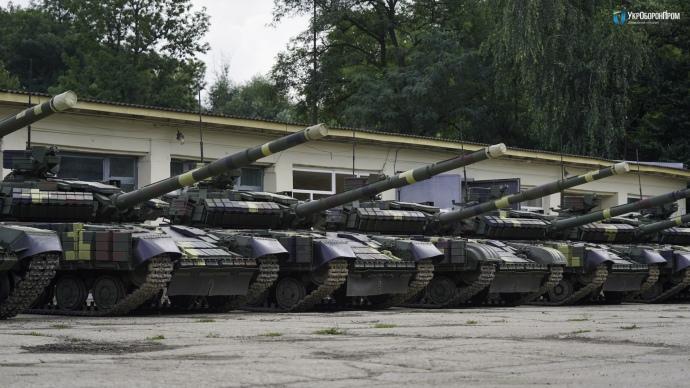 В Украине начали серийную модернизацию танков Т-64 / фото ДК УКРОБОРОНПРОМ