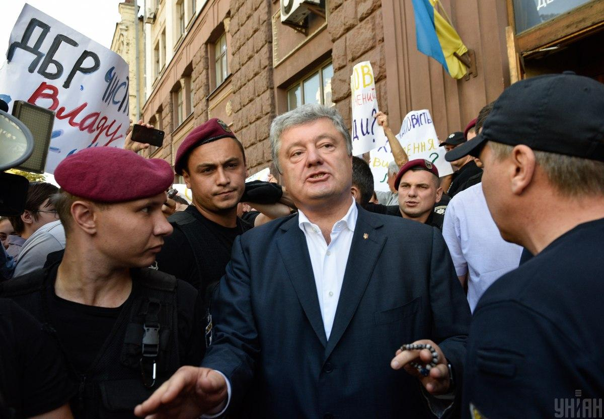 Правда, пізніше Порошенко видалив запис з коментарем / фото УНІАН