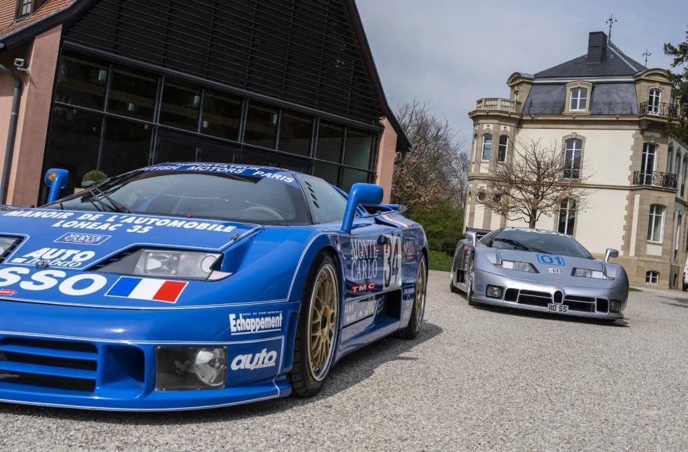 Автомобиль выпустяттиражом не болеедесяти экземпляров / фото Bugatti Vision Gran Turismo